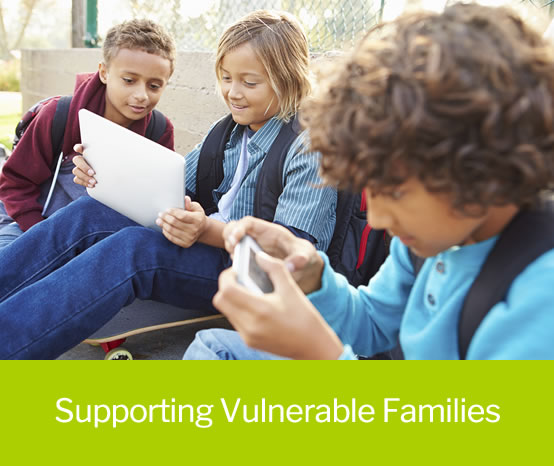 Support for vulnerable families