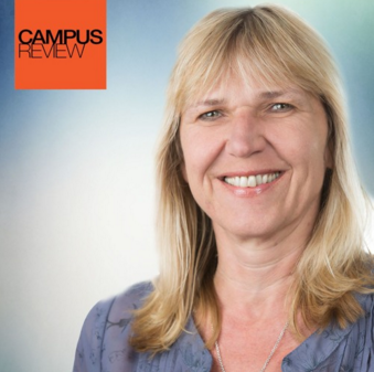 Marcela Slepica, Campus Review